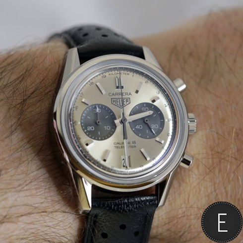 b86a84a4e1a TAG Heuer Carrera (39mm) Calibre 18 - watch replica review by ESCAPEMENT