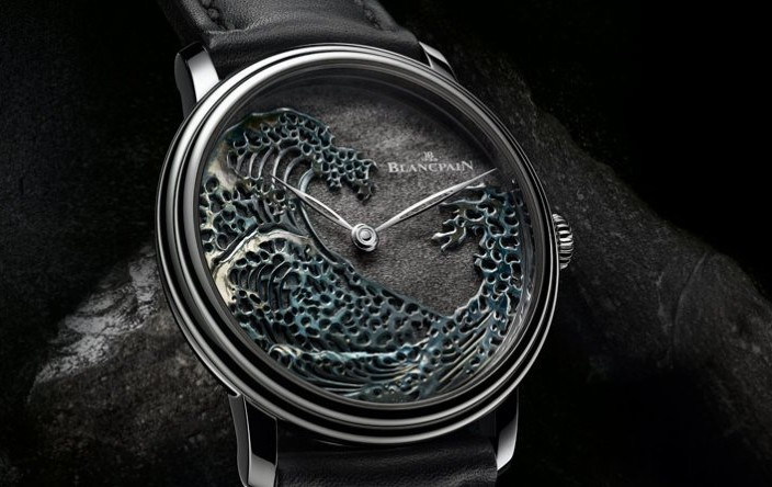 Meet The Thin Steel Blancpain Villeret Métiers d'Art The Great Wave Power Reserve Replica Watch Ref.6612-3433-63AB