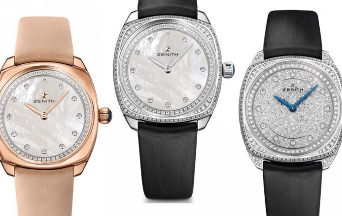 You will Like the Replica Diamonds Zenith Star Watch for Ladies