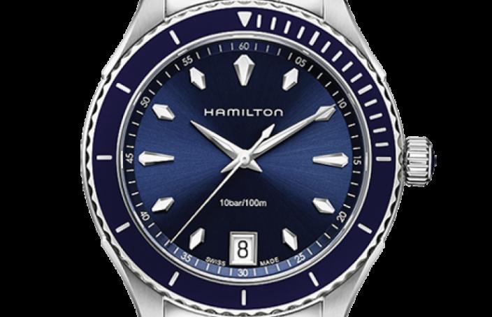 You Will Love The Men's Replica Hamilton JazzMaster Seaview Quartz Watch