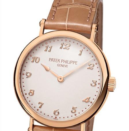 Rose Gold Patek Philippe Ladies Calatrava Replica Watch Ref. 7200