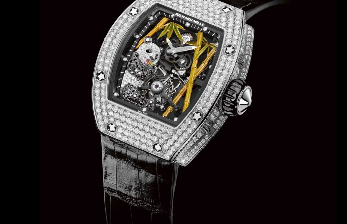 Richard Mille RM26-01 Panda Tourbillon Replica Watch