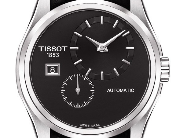 The Cool ane Masculine Tissot Couturier Small Second Automatic Watch Replica