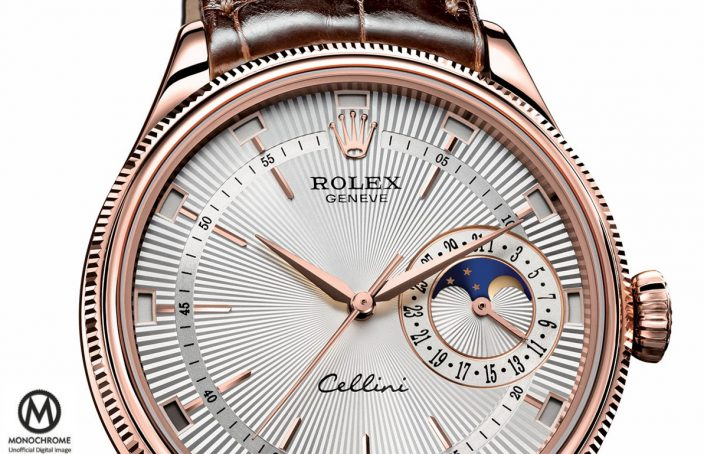 Rolex Cellini Annual Calendar and Moon-Phase replica watch