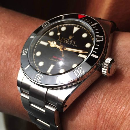 Ceramic Rolex Submariner No-date Ref. 114060