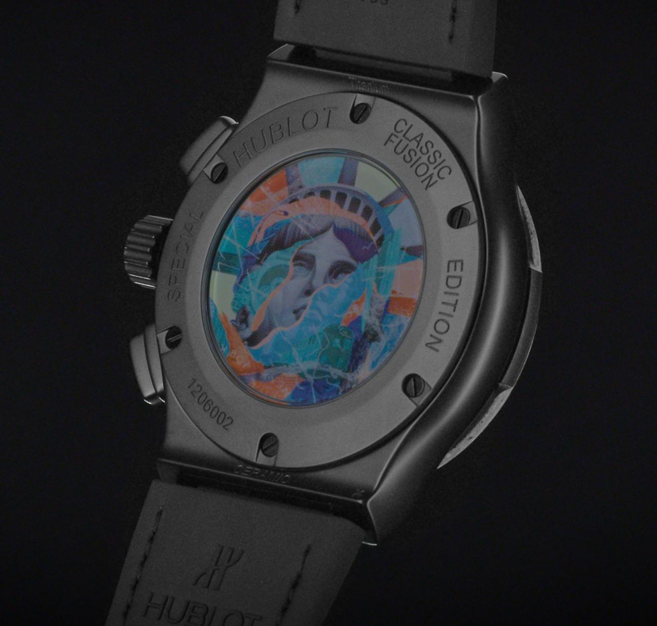 Hublot Classic Fusion Aerofusion Chronograph Concrete Jungle 4