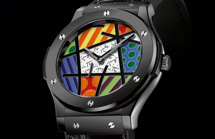 a30dc1e392d Wholesale Famous Introducing The Hublot Classic Fusion Enamel Britto – Pop  Art In Champlevé Enamel Replica Watches Buying Guide