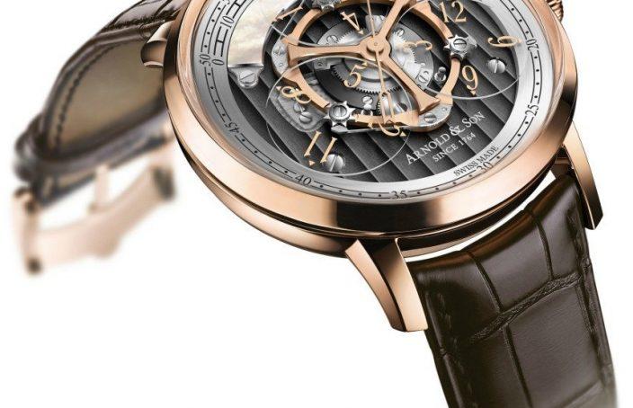 Arnold & Son Golden Wheel Watch: Return Of The Star Wheel Watch Releases
