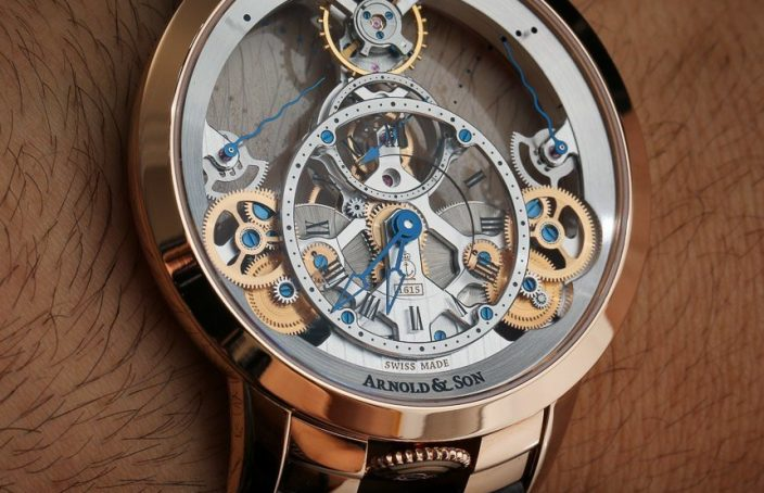 Arnold & Son Time Pyramid Watch Review Wrist Time Reviews