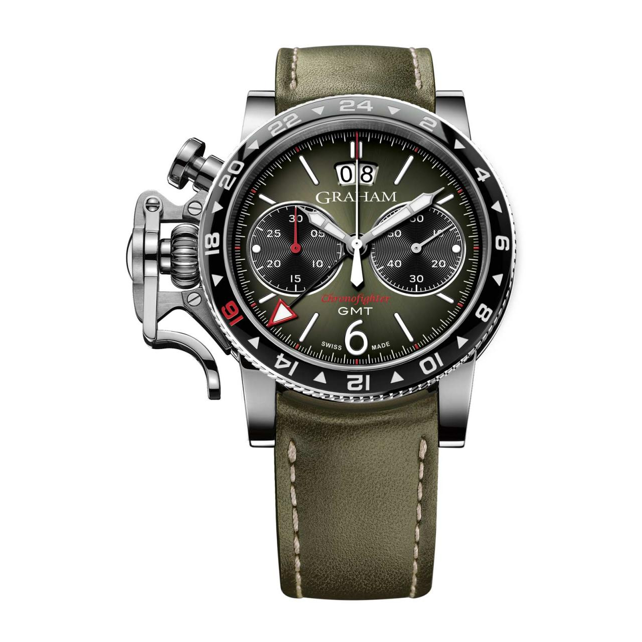 Unique piece Graham watches india Replica Chronofighter Vintage GMT