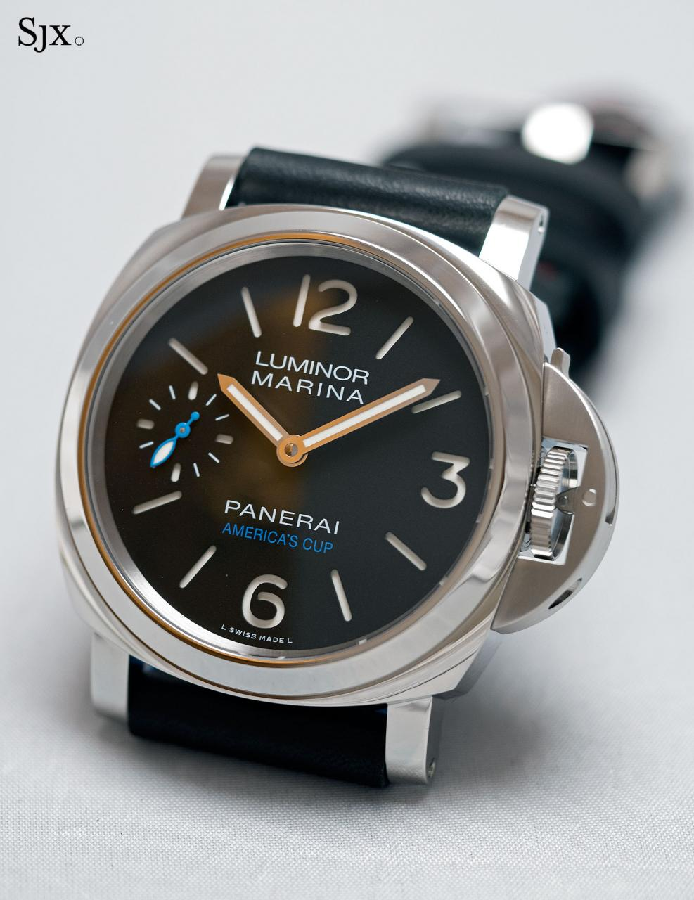 Panerai Luminor Marina ORACLE TEAM USA 8 Days Acciaio PAM724