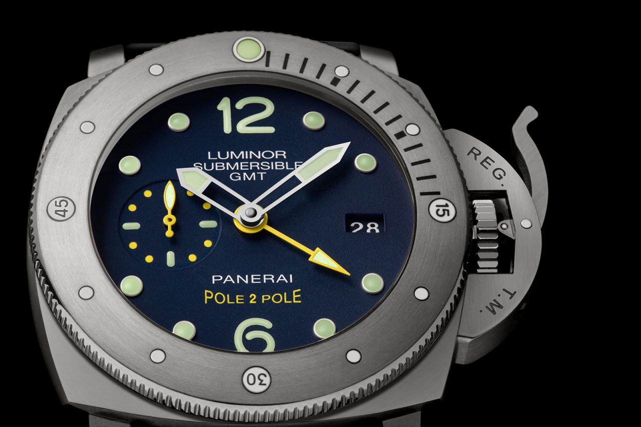 Panerai Luminor Submersible 1950 GMT PAM719 Mike Horn 3