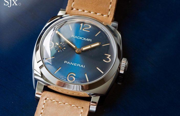 Panerai Radiomir 1940 Blue Dial PAM690