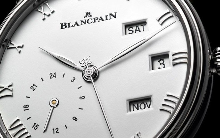 Take A Look At The Swiss Made Steel Blancpain Villeret Quantième Annuel GMT Watch Ref.6670-1127-55