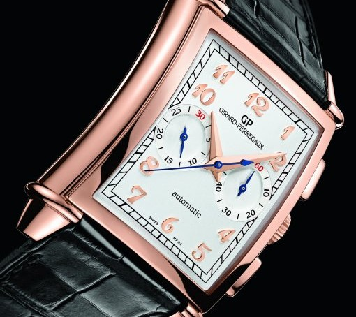 Closer Look At The Girard-Perregaux Replica Vintage 1945 XXL Automatic Chronograph Watch