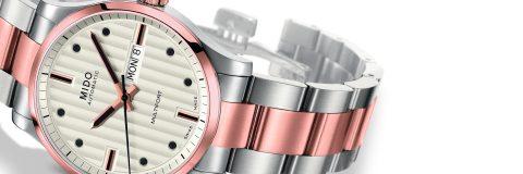 Mido Multifort Bicolor watch