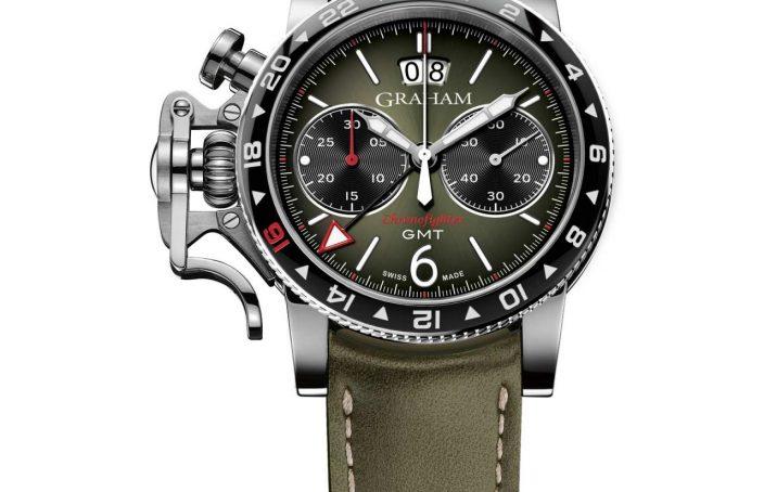 Unique piece Graham watches india Replica Chronofighter Vintage GMT
